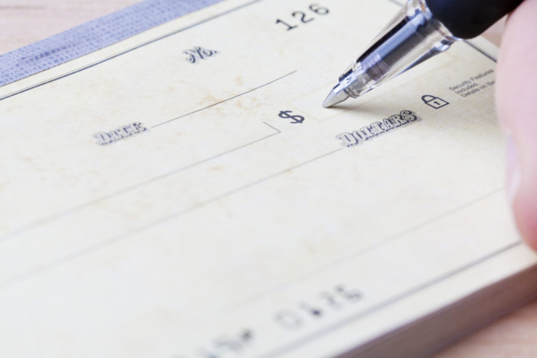Filling Out A Check In 5 Easy Steps